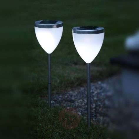 Decorative LED solar lamp Jannik set of 2-1522464-31