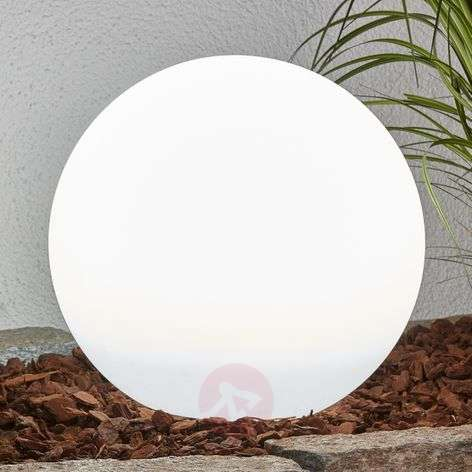 Decorative LED solar lamp Lago, spherical-4018064-32