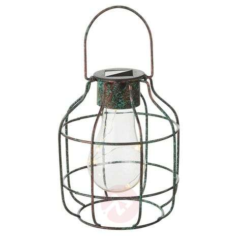 Decorative LED solar light Cage in a vintage look-4015028-31
