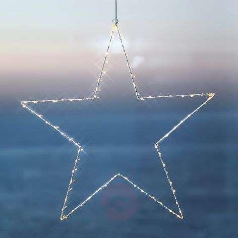 Decorative LED star Liva Star, white, 70