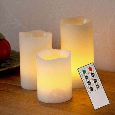 Decorative LED wax candles Candle Wax