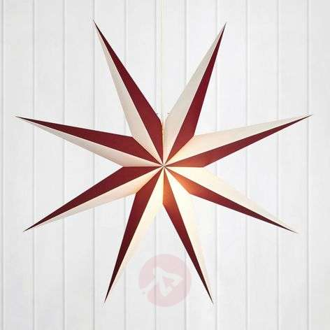 Decorative paper star Alva