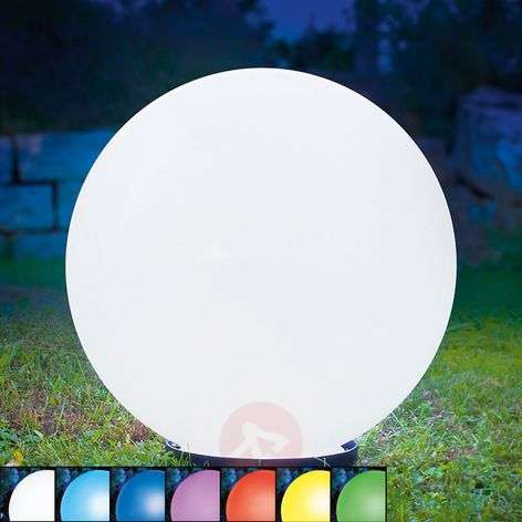 Decorative spherical solar lamp Mega Ball
