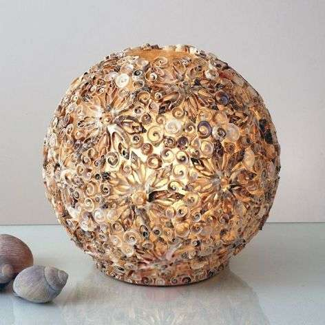 Decorative table lamp MUSCHELBALL-4512185X-31
