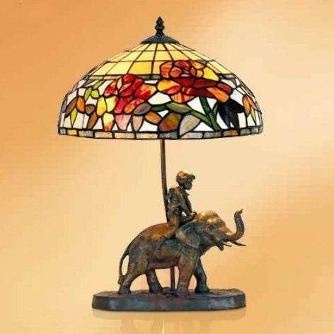 Decorative table lamp Samira, Tiffany style-1032298-31