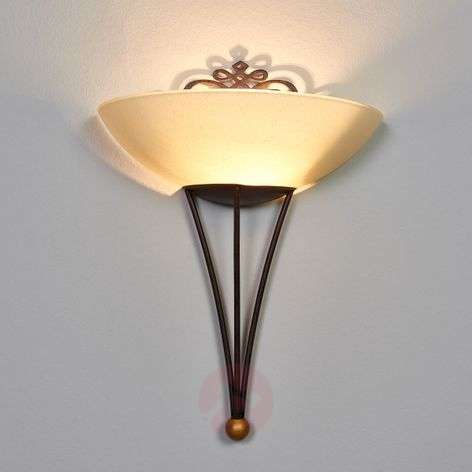 Decorative wall light Master with decoration