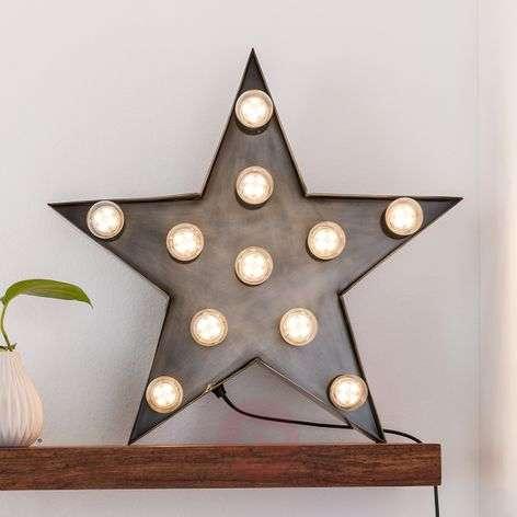 Decorative wall light Star   Lights.ie
