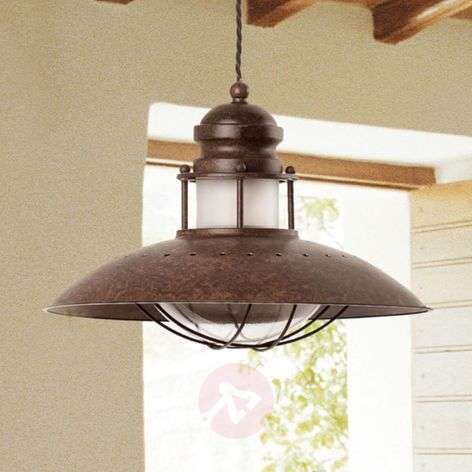Decorative Winch Pendant Lamp