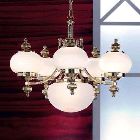 Delia Chandelier Elegant Six Bulbs
