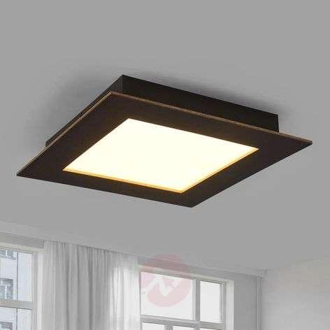 Designer ceiling lights shop online lights deno led ceiling light made from oak aloadofball Image collections