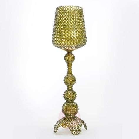 Designer floor lamp Kabuki with LEDs