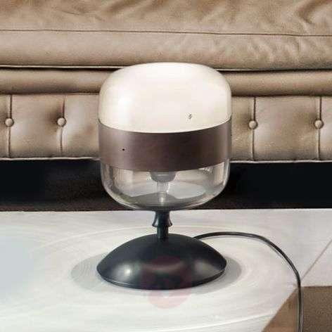 Designer glass table lamp, 29 cm