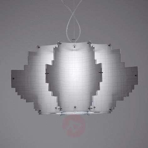 Designer hanging light Nuvola, white