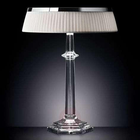 Designer LED table lamp Bon Jour Versailles chrome