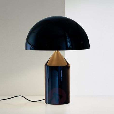 Designer table lamp Atollo with dimmer
