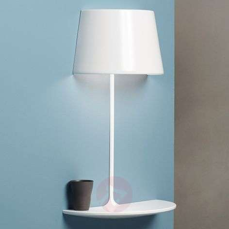 Designer wall light and table Illusion Half