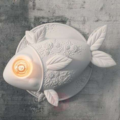 Designer wall light Aprile in the shape of a fish