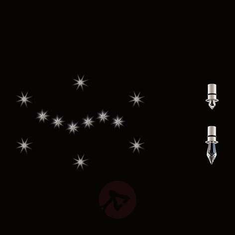 Desire 12 Stars crystal star light set