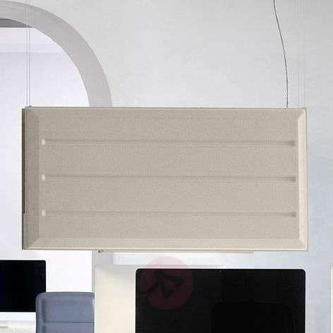 Diade LED hanging lamp vertical beige