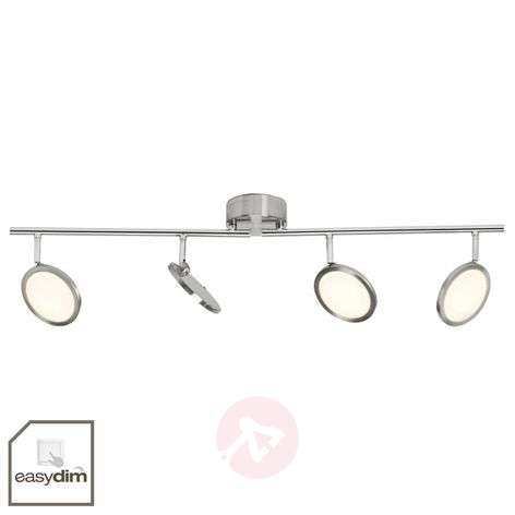 Dimmable LED ceiling light Scope, four-bulb