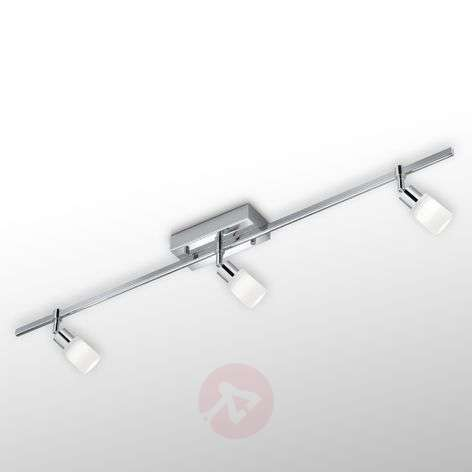 Dimmable LED ceiling light Siara, three-bulb