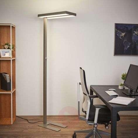 Dimmable LED office floor lamp Logan 4,000 K