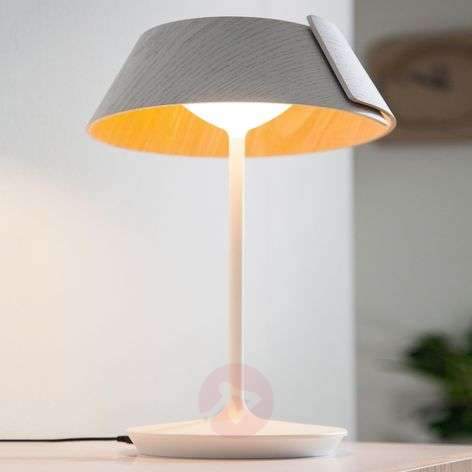 Dimmable LED table lamp Nonagon