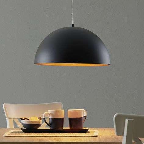 Dingle Two-Tone Hanging Light Black Gold-3502449-31