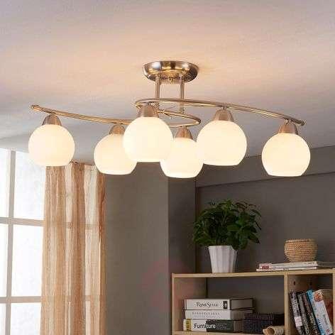 Dining room ceiling light Svean, 6 bulbs-9620766-34