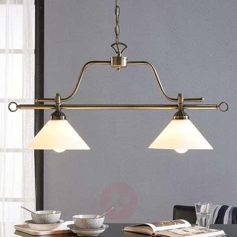 Dining table hanging lamp Otis, 2-bulb-9621032-33