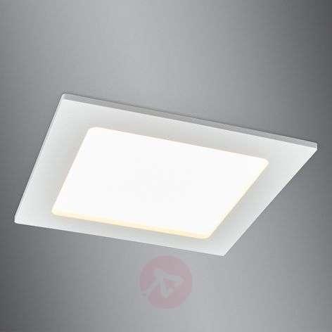 Discreet LED recessed spotlight Feva, 10.5 W