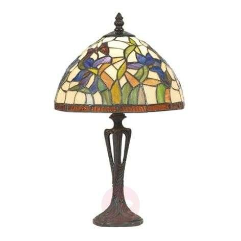 Discreet table lamp ELANDA, Tiffany-style, 41 cm-1032161-31