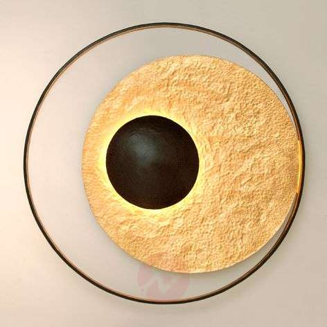 Distinctive wall lamp Satellite gold
