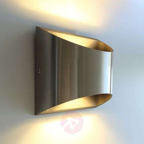 Dodd stainless steel outdoor wall light with LED-3006517-31