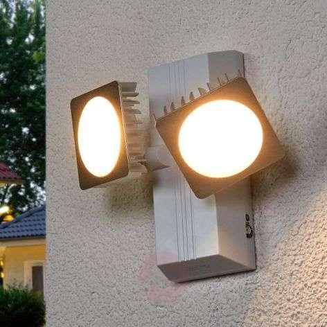 Double spot LED outdoor wall lamp Noxlite Smart-7261127-31
