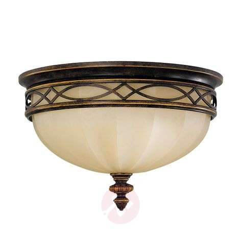 Drawing Room Ceiling Light with Scavo Glass