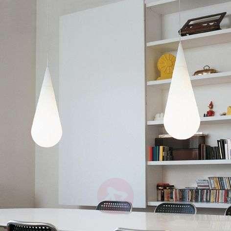 Drop-shaped GOCCIA 63 hanging light