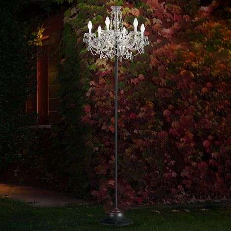 Drylight RGBW outdoor floor lamp - app-controlled