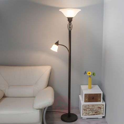 Dunja LED uplighter with a reading light-9620273-333