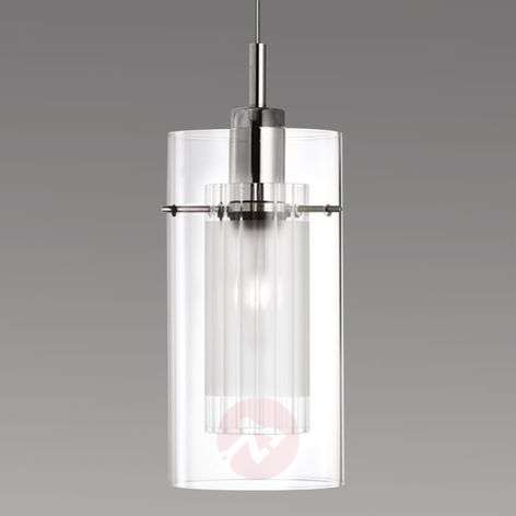 Duo 1 decorative hanging light, one-bulb
