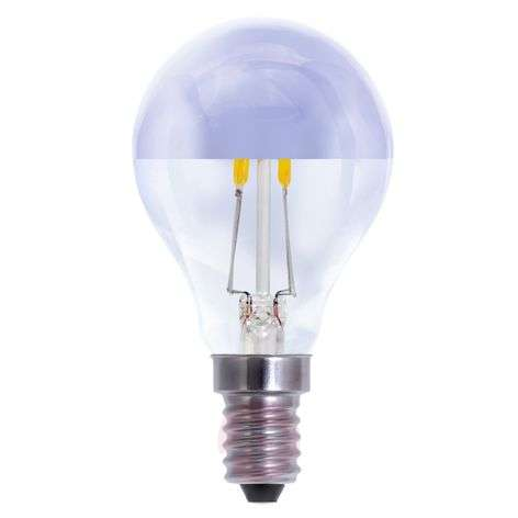 E14 2.7W LED half mirror bulb, dimmable