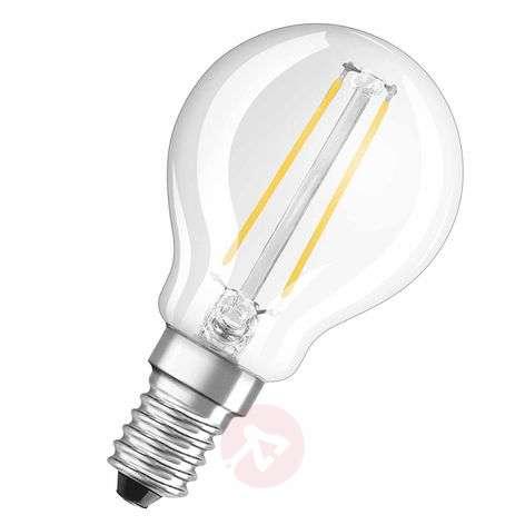 E14 2.8 W 827 LED golf ball bulb retrofitclear