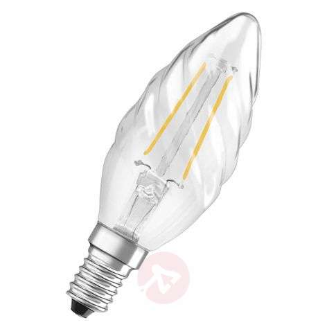 E14 2,8 W 827 retrofitLED candle bulb twisted