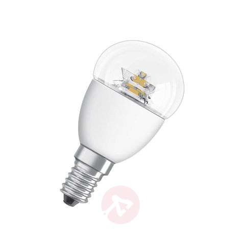 E14 3,3W 827 LED tear bulb Star clear