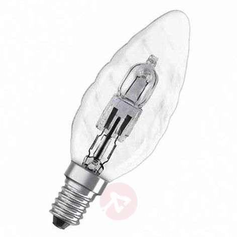E14 30W halogen bulb Classic BW candle twisted
