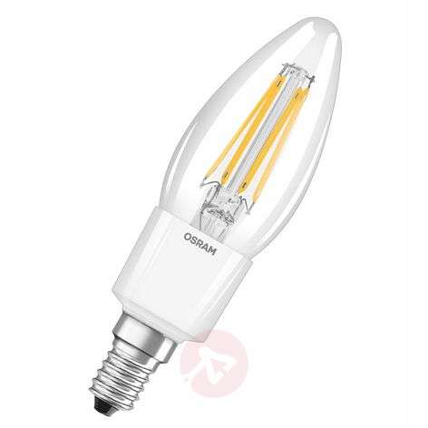E14 4.5 W 827 LED candle bulb retrofitdimmable