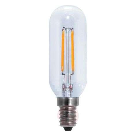 E14 4W 926 LED filament tube bulb, clear