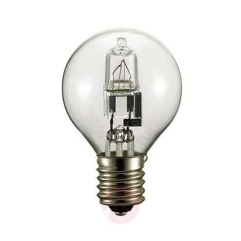 E14 42 W Halogen Droplet Bulb Clear