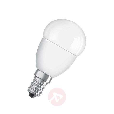 E14 5,7W 827 LED tear bulb Star matte