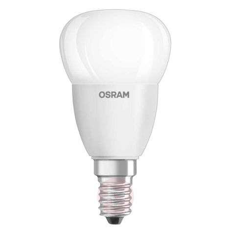 E14 5 W 840 LED golf ball bulb Star, matt